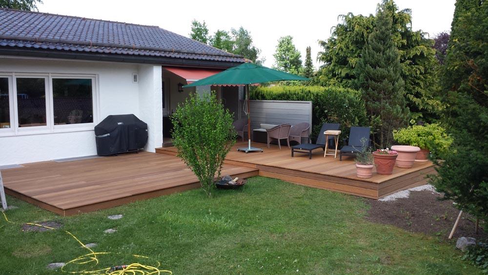 terrasse neu haloring. Black Bedroom Furniture Sets. Home Design Ideas